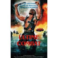 Affiche de la VHS Ultime Combat (Deadly Prey)