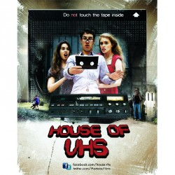 "Affiche ""House of VHS"""